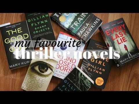 FAVOURITE THRILLER FICTION BOOKS