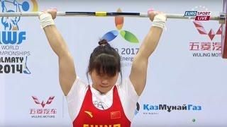 2014 World Weightlifting Championships, Women 63 kg \ Тяжелая Атлетика. Чемпионат Мира