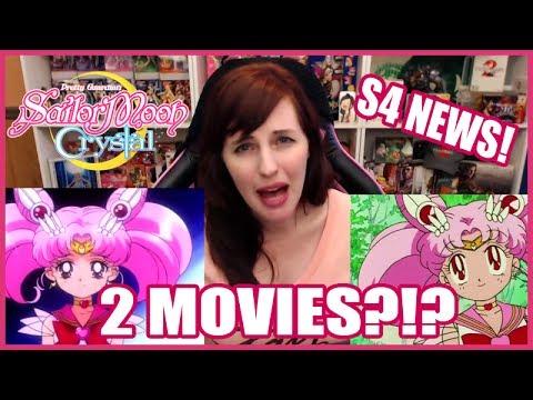 2 Movies?? Sailor Moon Crystal Season 4 NEWS! 🌙