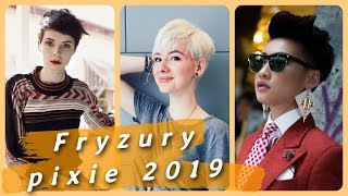 ⭐ Top 20 najmodniejsze fryzury pixie 2019 ⭐