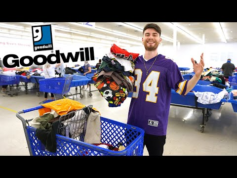 I Raided The Goodwill Bins! Tons of Vintage Clothing Found!! Trip to the Thrift #394