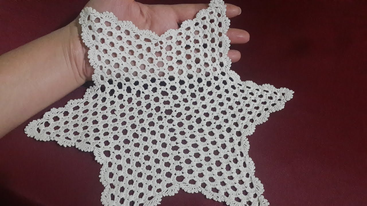 Tig Isi Yildiz Modeli Dantel Yatak Odasi Takimi Yapimi Crochet Part 2