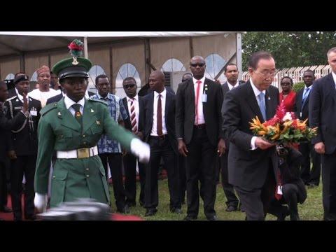 UN chief visits Nigeria to mark attack on mission