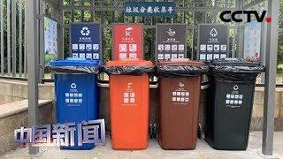[中国新闻] 垃圾分类第一周 上海习惯了吗?| CCTV中文国际