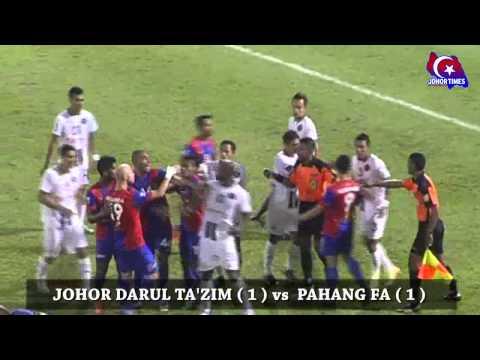 GOL Highlight JDT vs Pahang FA (Piala FA 2014)