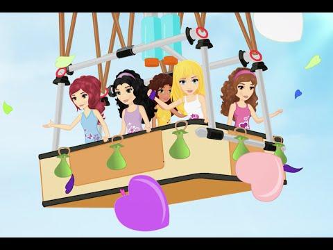 Friendship in the Air - LEGO Friends - Season 2 Episode 18