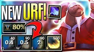 URF IS BACK!! NEW SNOW BATTLE AR URF GAMEPLAY (GLOBAL SNOWBALLS) League of Legends