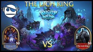 Hearthstone | Knights of the Frozen Throne | The Lich King Vs Warlock