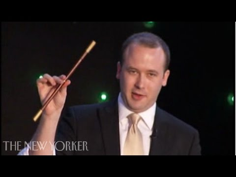Thoughts on magic - Presto Change-O - The New Yorker Festival