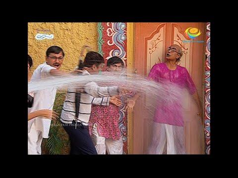 Water Tanker in Gokuldham   Taarak Mehta Ka Ooltah Chashmah  TMKOC Comedy तारक मेहता  का उल्टा चश्मा