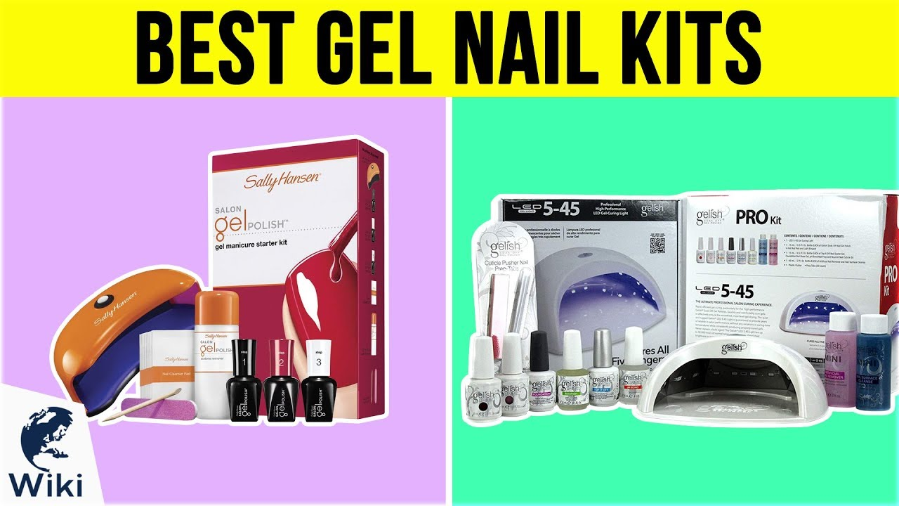 10 Best Gel Nail Kits 2019 - YouTube