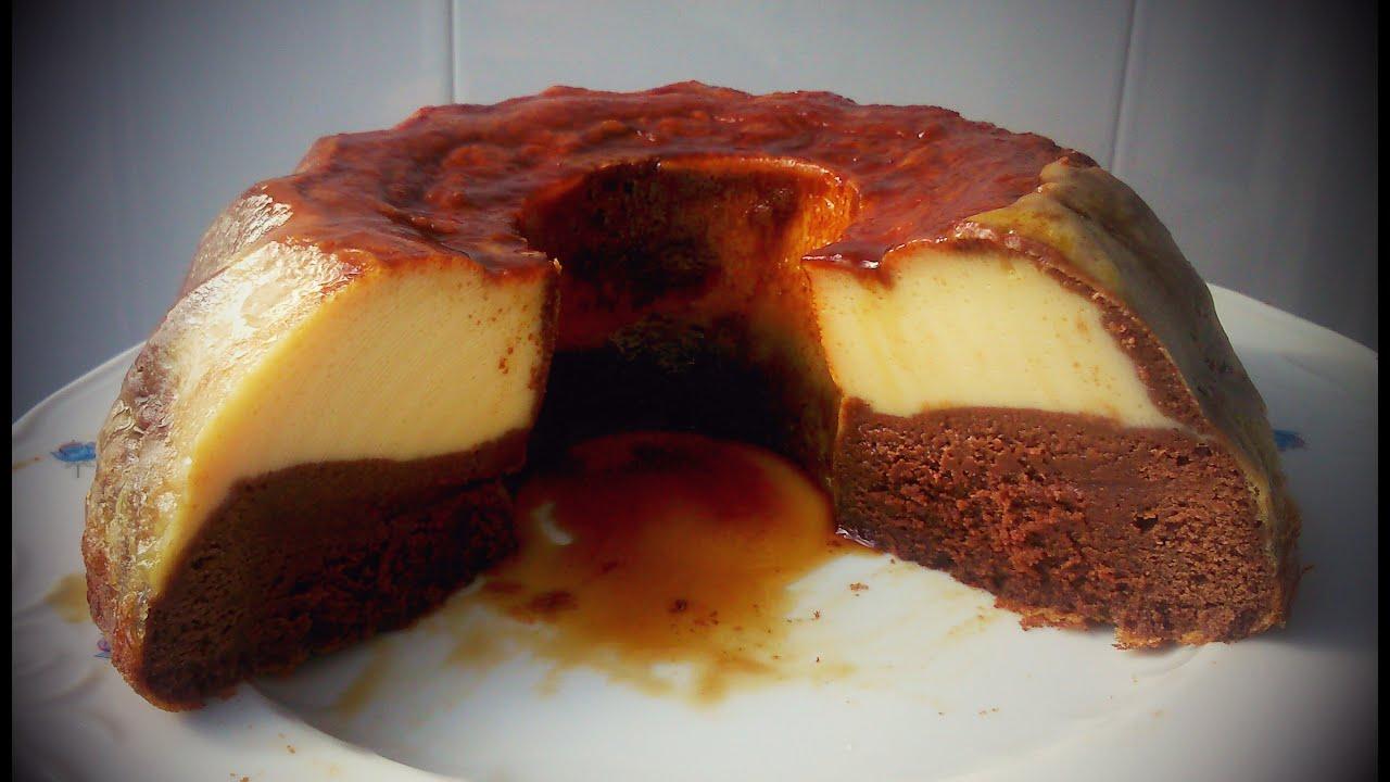 Chocoflan o Pastel Imposible I Bao mara  YouTube