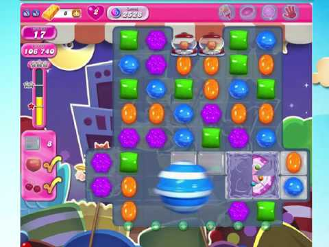 Candy Crush Saga 2528 with 10 moves left, NO BOOSTERS!
