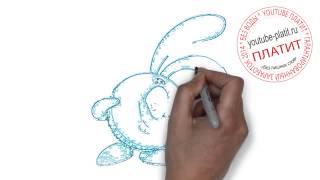 Смешарики Крош видео  Как поэтапно нарисовать КРОША из смешариков карандашом(Смешарики. Как правильно нарисовать смешарика КРОША поэтапно. На самом деле легко и просто http://youtu.be/mHuoh0rAZWQ..., 2014-09-10T17:52:48.000Z)