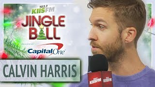 Calvin Harris Talks About His Gardening And Plans For 2019 At Jingle Ball