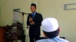 Pidato Bahasa Arab Terhebat 2013... Peneng Mari !