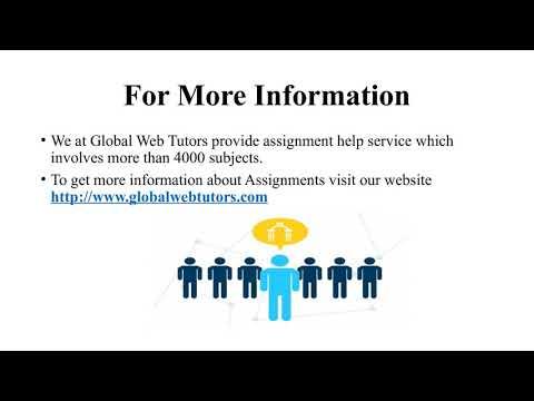 Online tutor assignment help