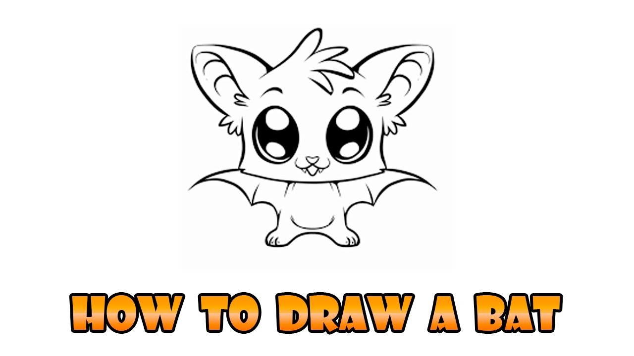Uncategorized How To Draw A Bats how to draw bat easy step by drawing lesson for kids youtube kids