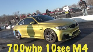 M4ZING M4 into the 10s! 700whp PetrolWerks