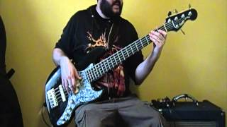 Fear Factory - Edgecrusher - Industrial Metal Bass Lesson