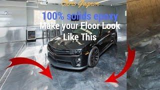 Epoxy Garage Floor Makeover