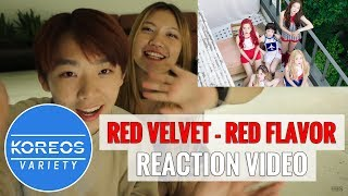 figcaption [Koreos Variety] EP 42 Red Velvet 레드벨벳 - Red Flavor 빨간 맛 Reaction