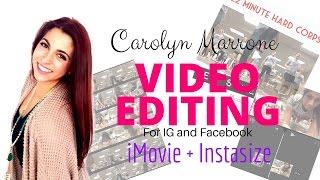 iMovie + Instasize Video Tutorial