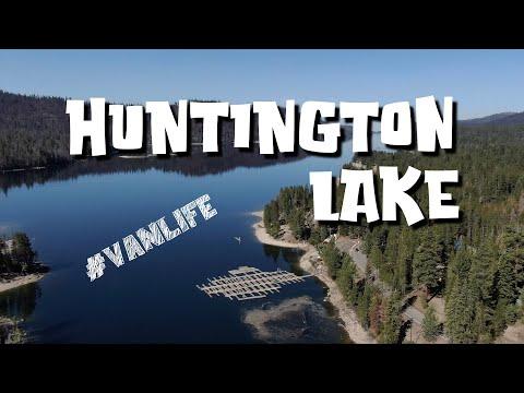 HUNTINGTON LAKE, CA day 2 - Rancheria Falls Trail - Deer Creek Campground  - solo male #vanlife