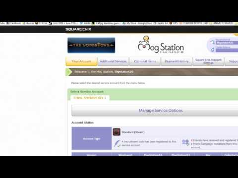 How to enter a FFXIV Recruitment Code - YouTube