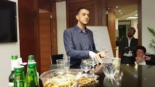 """הרצאה של אלירן טרבלסי מנכ""""ל אוקראינה ישראל נדלן בנושא שיווק נדלן באוקראינה"""