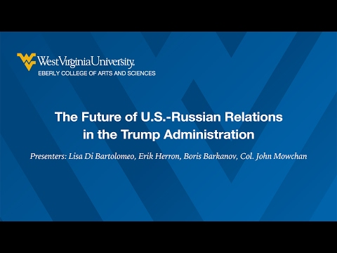 The Future of U.S.-Russian Relations in the Trump Administration