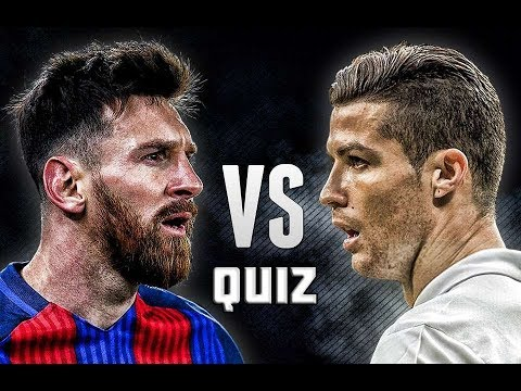 MESSI VS RONALDO KVÍZ 🤔⚽