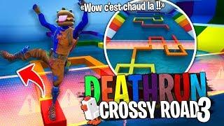 Cross the Road 3, la version IMPOSSIBLE avec la Team Croûton sur Fortnite Créatif !