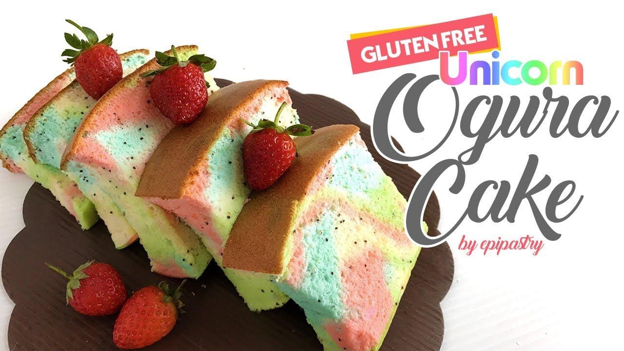 Gluten Free Yoghurt Unicorn Ogura Cake Youtube
