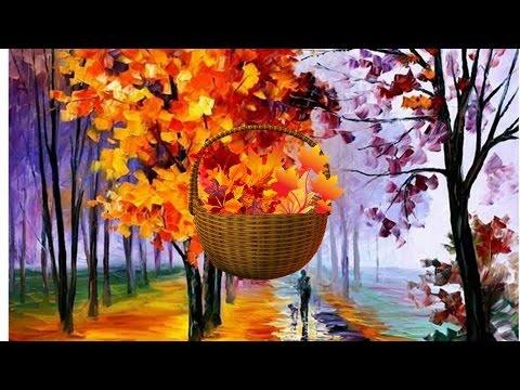 осень фото анимация