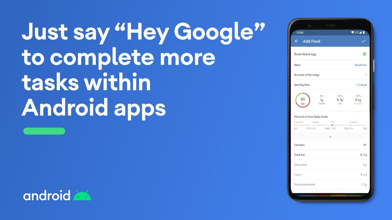 "Just say ""Hey Google"" to complete more tasks within Android apps"