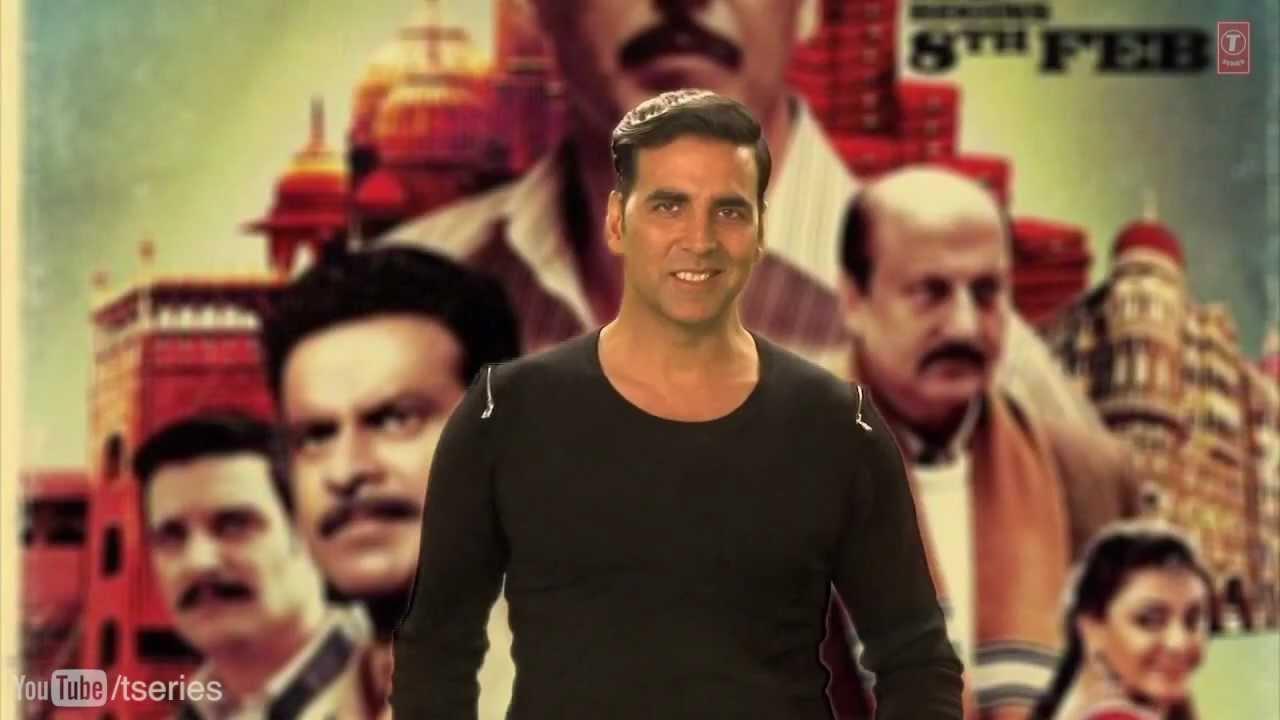 Akshay Kumar Message   Special 26 Movie