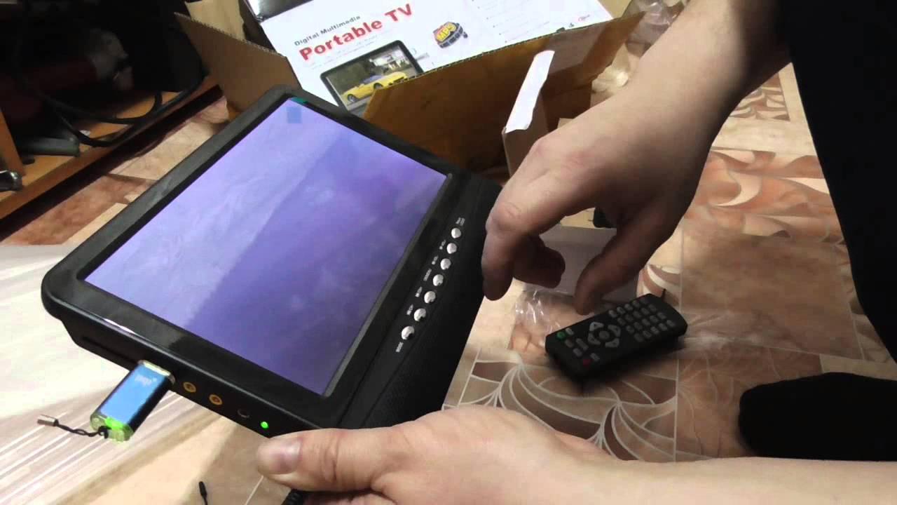 Телевизор автомобильный из китая с AliExpress.