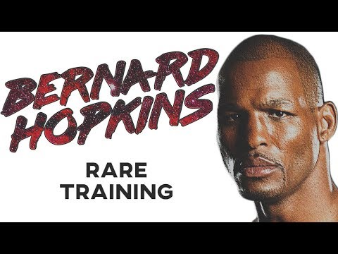 Bernard Hopkins RARE Training In Prime