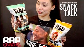 SNACK TALK // Trying Cardi B & Migos RAP SNACKS for the first time