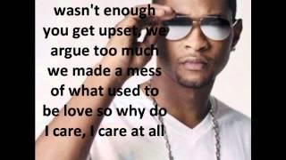 Climax, Usher - lyrics