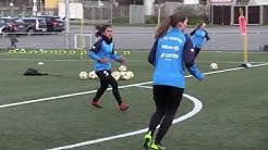 Trainingsauftakt 1. FFC Frankfurt Januar 2020