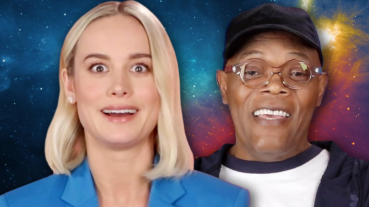 """Download The Cast of """"Captain Marvel"""" Plays Superhero Would You Rather"""