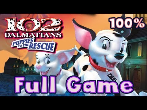 Disney's 102 Dalmatians: Puppies to the Rescue FULL GAME Movie 100% Longplay (PS1)