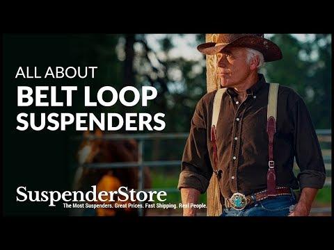 Belt Loop Suspenders