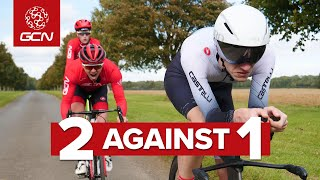 Can Two Roadies Beat One Time Trial Bike?
