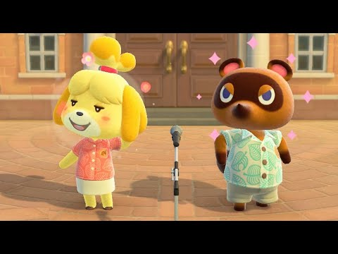 Animal Crossing New Horizons - Meeting Isabelle