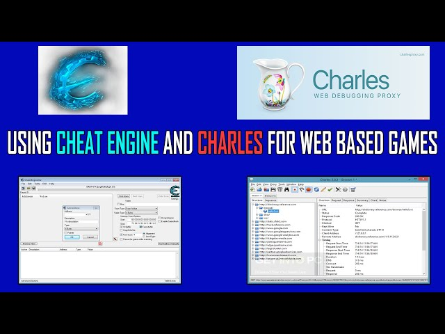 Using CE and Charles for Web Based Games by KenMC
