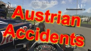 F1 Game 2015 - Austrian Accidents