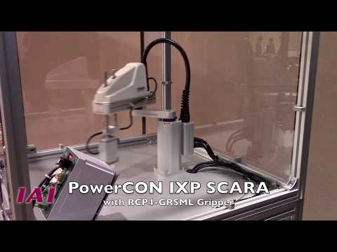 SCARA Robot PowerCON IXP & RCP4 Gripper